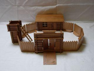 Wilder Westen : Soldaten - Fort Passend Für Britains -,  Elastolin - Figuren Bild