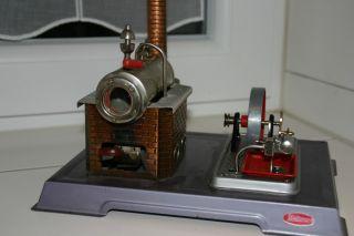 Dampfmaschine Von Wilesco Klein Bild