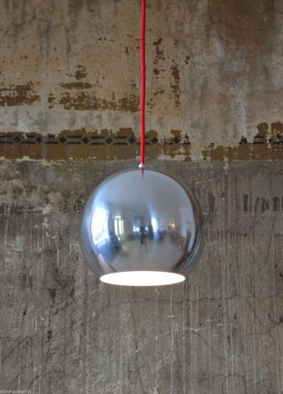 1 (2) 60er Louis Poulsen Topan Pendelleuchte Verner Panton 60s Lamp Danish Design Bild