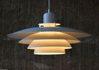 70er Lampe Pendelleuchte Danish Design 70s Pendant Lamp Fog & Morup ära 60er 60s Bild