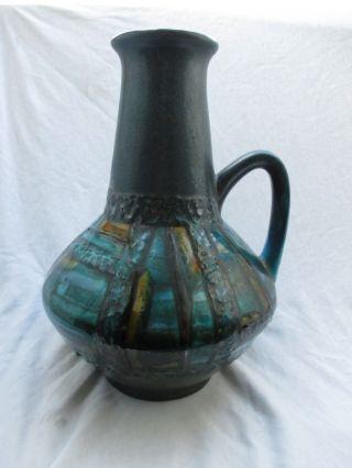 Carstens Bunte Ankara Fat Lava Vase 1507 - 27 Fat Lava Mid Century Vintage Wgp Bild