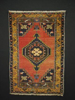 Antiker Anatolischer Teppich Antique Rug Anatolia Ca.  147 X 88 Cm 028 Bild
