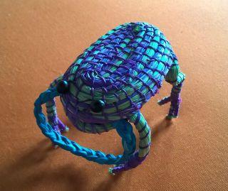 Frosch Dekoration Aus Peru Selbstgemachte Artesania Bild