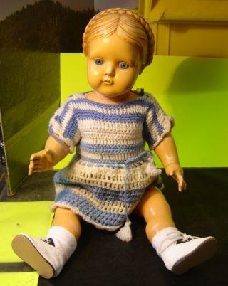 Puppen Von Celba Celluloidfabrik Nr.  46/45 M.  Glasaugen  (879w) Bild