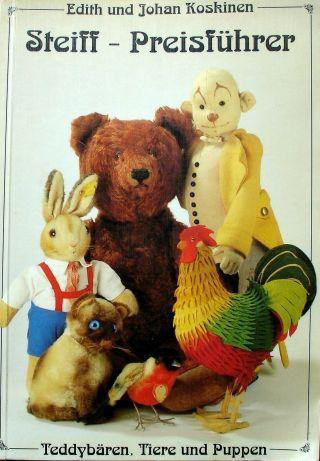 Steiff Preisführer 1989 E.  & J.  Koskinen - Teddybären,  Tiere,  Puppen Bild