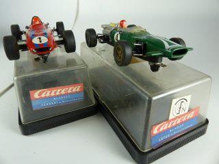 Carrera Uni 40406 Lotus / 40405 Ferrari Mit Rennchasis - Slot Cars Bild