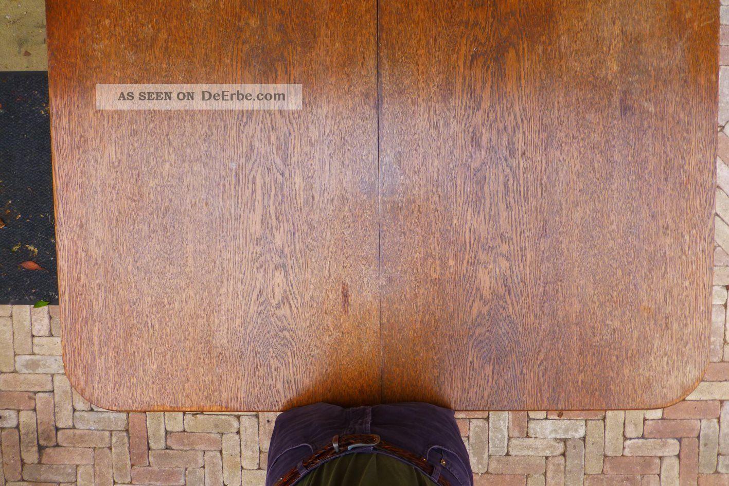 Antiker Esstisch Eiche ~ Antiker Esstisch, Ausziehbar, Wahrscheinlich Eiche, Länge Bis 380cm