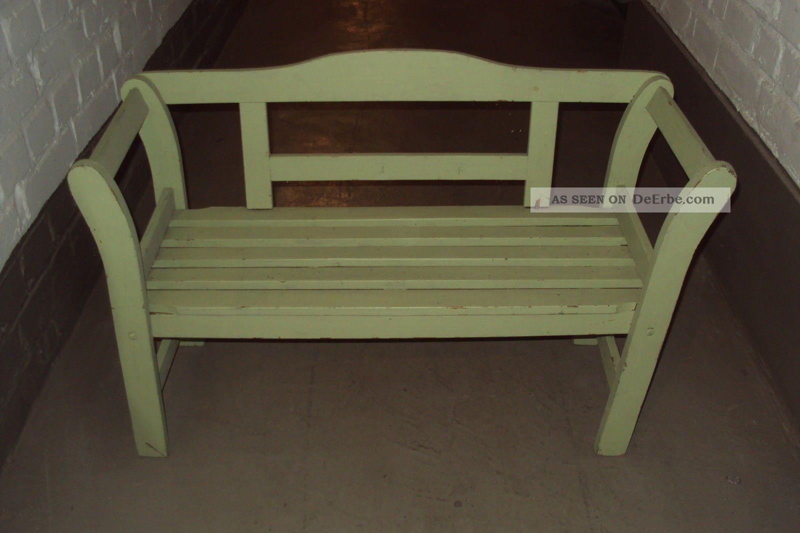 alte kinder bank kleine sitzbank holzbank. Black Bedroom Furniture Sets. Home Design Ideas