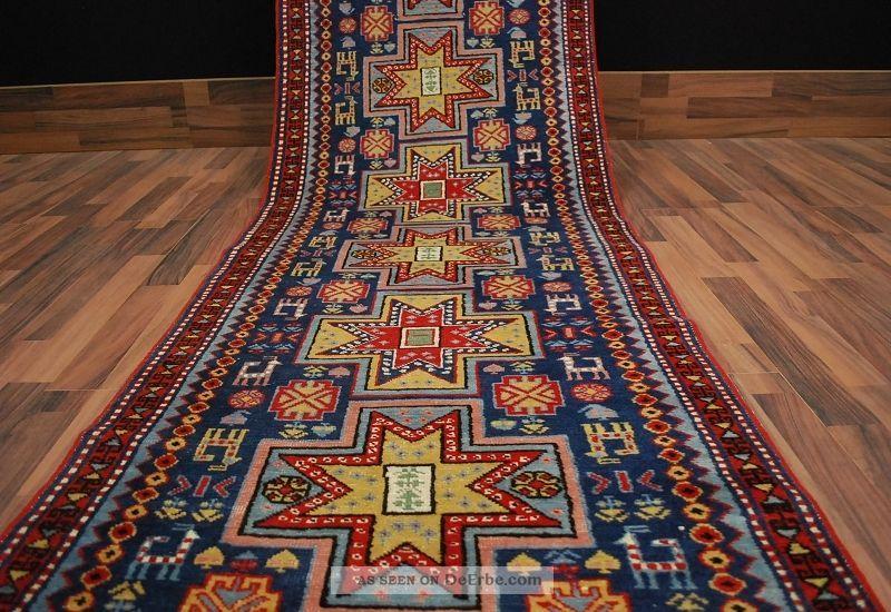 alter derbent schirwan teppich rug tappeto ca 353 x 80 cm 031. Black Bedroom Furniture Sets. Home Design Ideas
