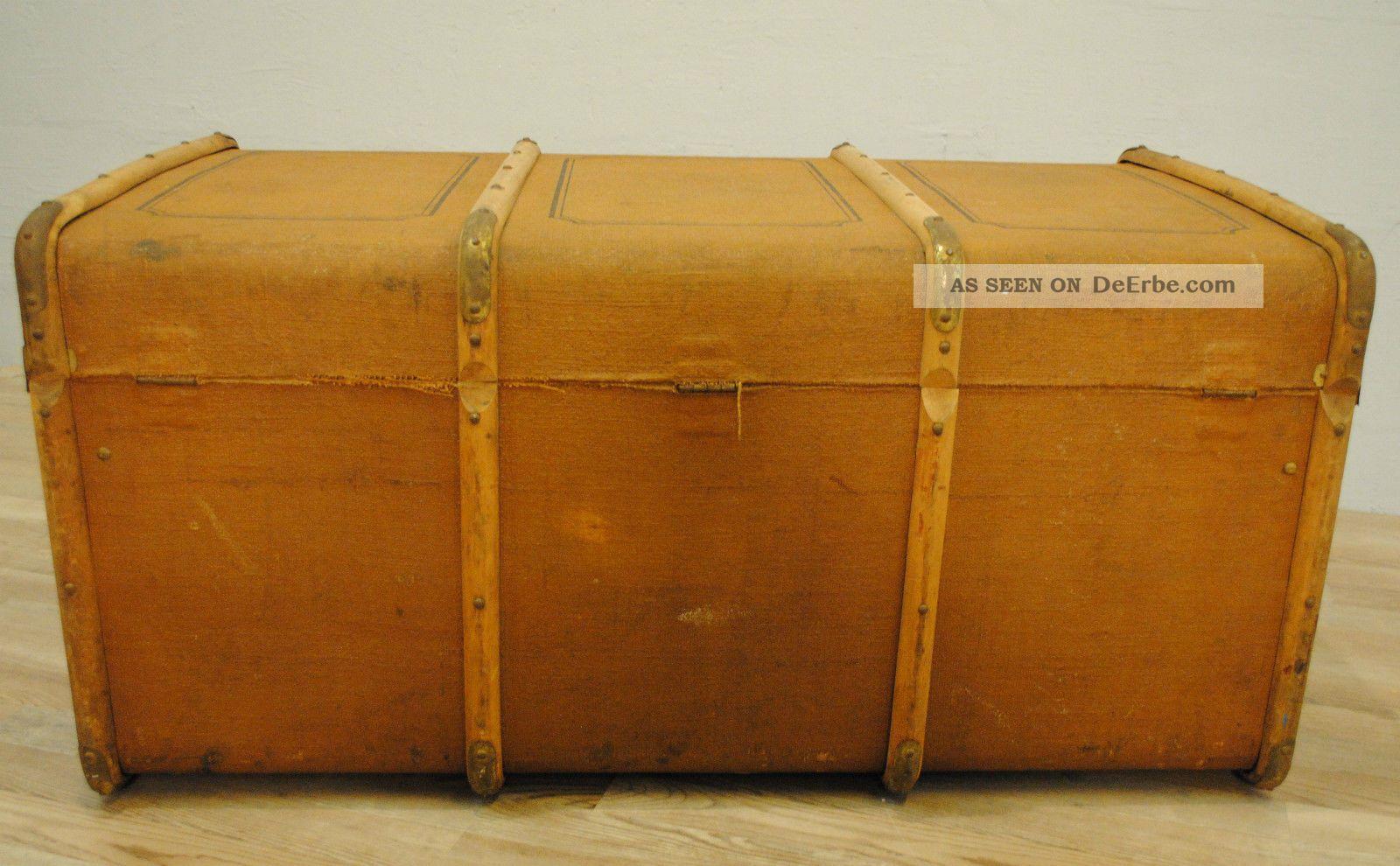 bersee koffer reisekoffer um 1900 l nge 100 cm tiefe 58. Black Bedroom Furniture Sets. Home Design Ideas