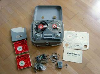Tonträger Loewe Opta Optacord Type 402 Koffertonband Zubehör Tonbänder 1950 Top Bild