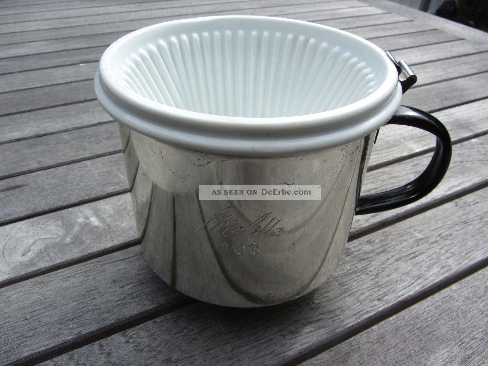 melitta kaffeefilter mit metallhalterung und griff 103. Black Bedroom Furniture Sets. Home Design Ideas