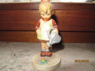 Goebel Hummelfigur/gebraucht/die Kleine Gärtnerin Bild