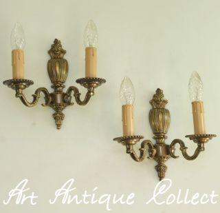 mobiliar interieur lampen leuchten antike originale vor 1945 wandlampen antiquit ten. Black Bedroom Furniture Sets. Home Design Ideas