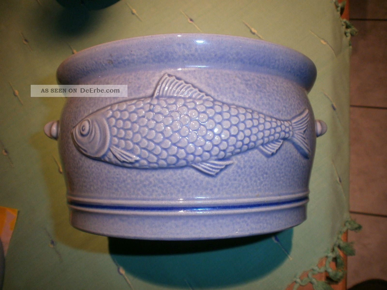 Fischtopf Aus Keramik Haushalt Bild