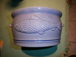 Fischtopf Aus Keramik Bild