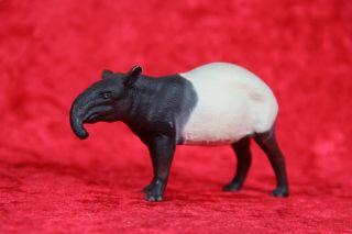 Lineol Sammelfigur Tapir Massefigur Paarhufer Tier Masse Wildtier 10 Cm Bild