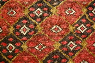 Antiker Teppich Veramin Antique Rug Wool On Wool Ca.  220x113cm SammlerstÜck Bild