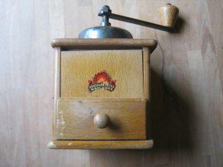 Alte Kaffeemühle - Geschmiedetes Mahlwerk Bild