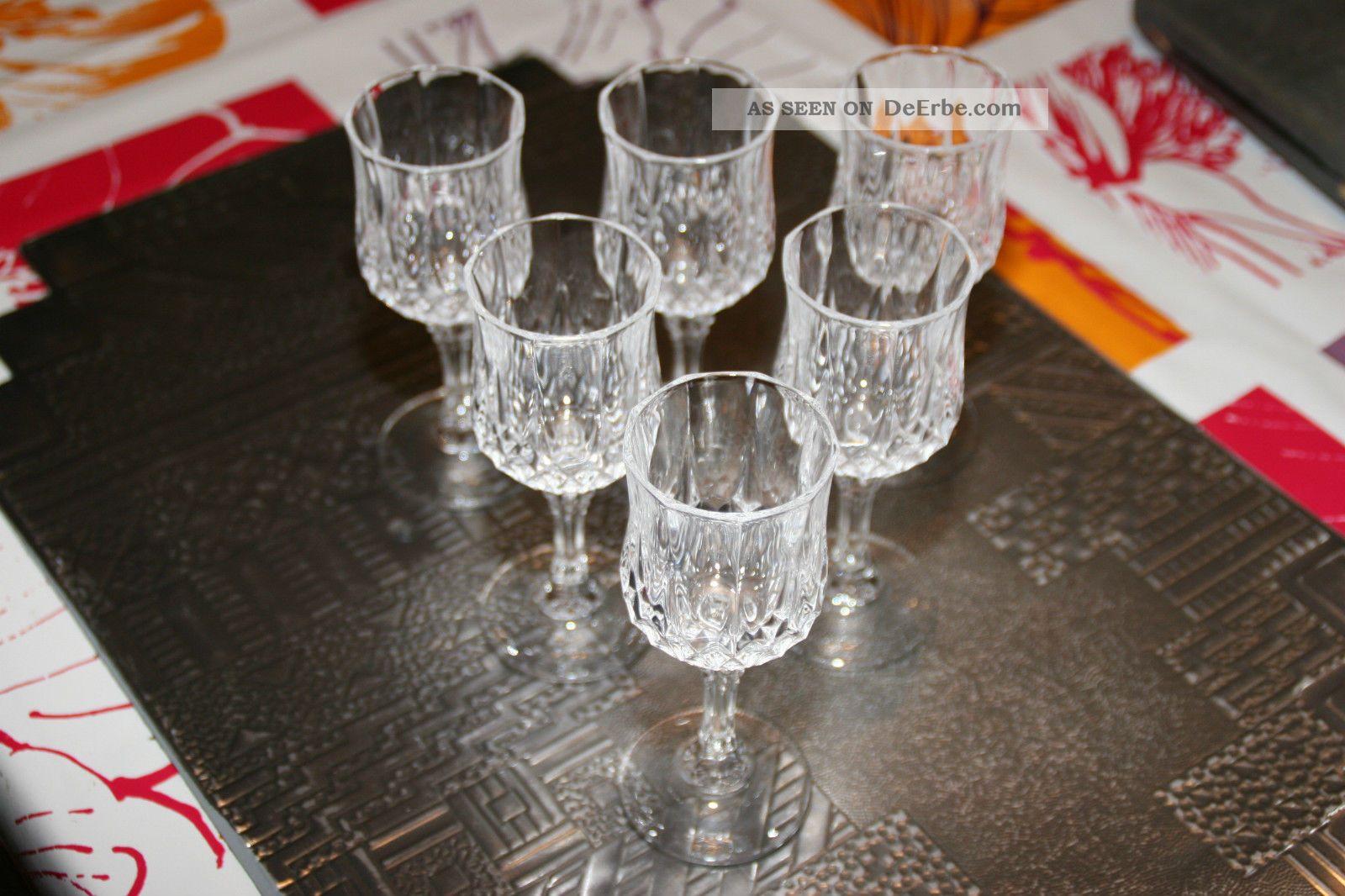 Cristal d'arques gläser