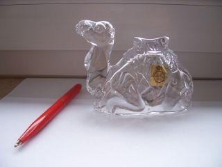 Kamel Aus Glas Tiere Nachtmann Bleikristall Glasfiguren Sammlungauflösung Bild