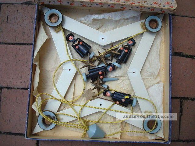 erzgebirge h nge adventsleuchter antik weihnachtskranz. Black Bedroom Furniture Sets. Home Design Ideas