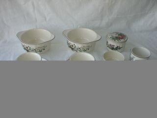 10 Teile V&b Villeroy & Boch Luxembourg Botanica Depuis 1748 Vitro Porcelaine Bild