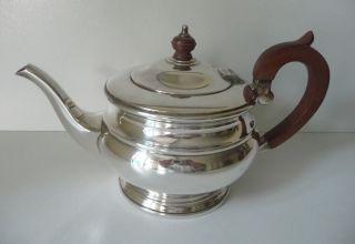 Teekanne Versilbert,  Art Deco England Bild