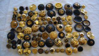 Knöpfe Sammler Glasknöpfe - - 101 Stück - - Bild
