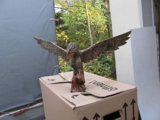 Adler Aus Peru Holz - 2 Stück Bild