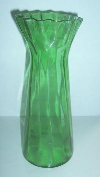 Antikes Hyazinthenglas Um 1900 / 20 Vase Bild