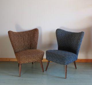 2 Cocktailsessel 50er 60er Jahre Clubsessel Sessel Bild