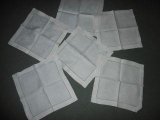 haushalt textilien wei w sche tischw sche servietten antiquit ten. Black Bedroom Furniture Sets. Home Design Ideas