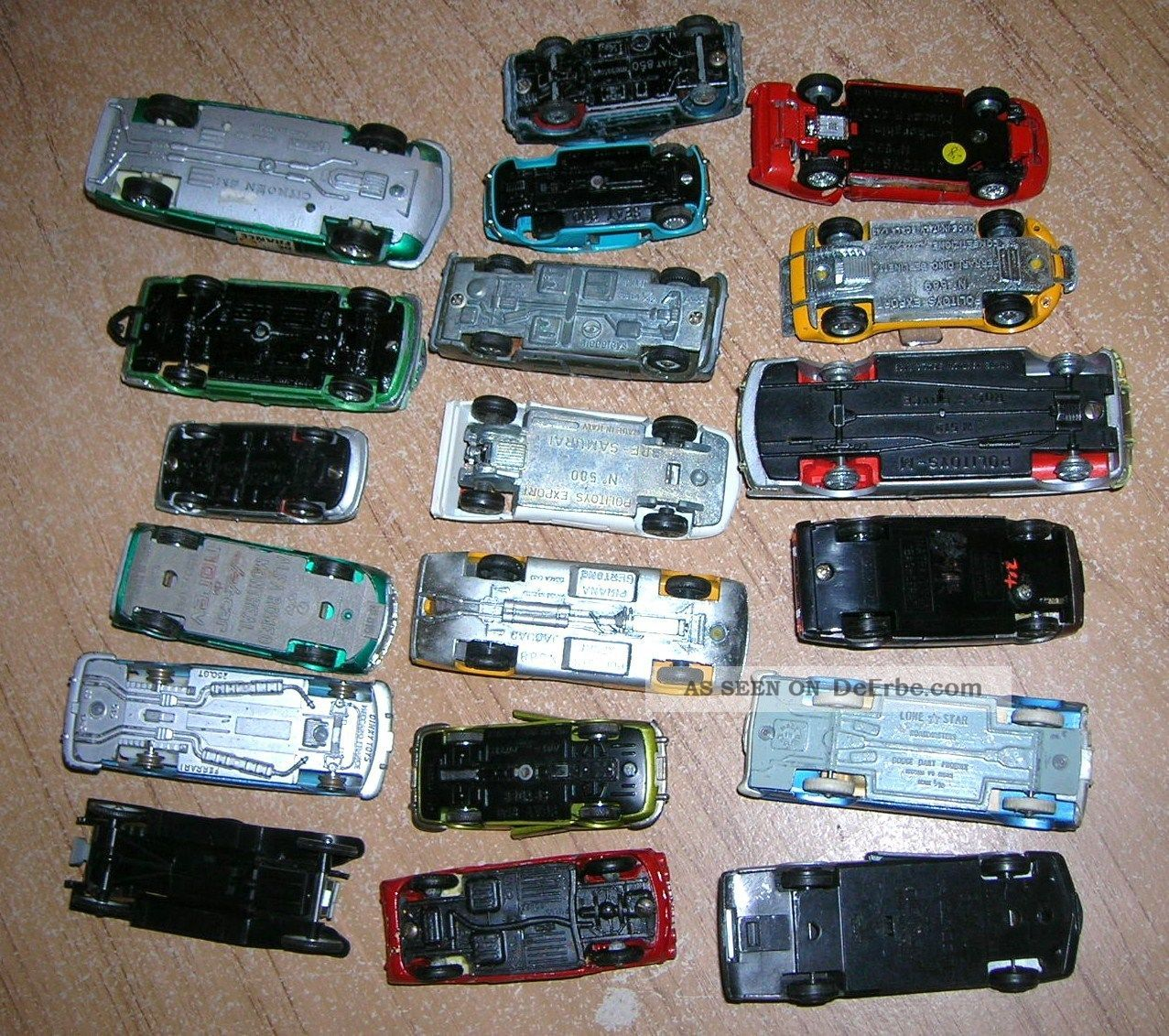 Konvolut verschiedene defekte spielzeugautos der er