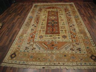 Alte Anatolischer Milas Teppich Rugs Anatolia Ca.  288 X 198 Cm 069 Bild