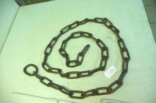 Nr.  5793.  Alte Kette Eisenkette 2,  6 Kg Old Iron Chain Bild