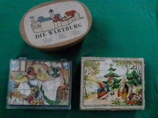 Alte Bauklötze Kinder - Spielzeug Holzspielzeug Alles In Kästen Bild