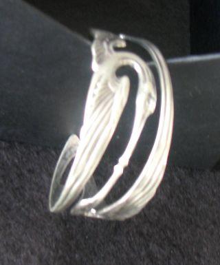 Jugendstil Armreif Armspange Kraniche Bracelet Art Nouveau Bild