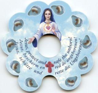 Rosenkranz Der Ungeborenen - Rosary Of The Unborn Rosaire De L ' Enfant à Naître Bild