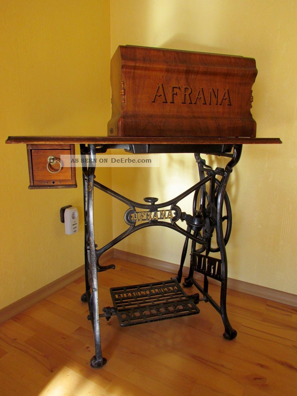 antike n hmaschine afrana. Black Bedroom Furniture Sets. Home Design Ideas