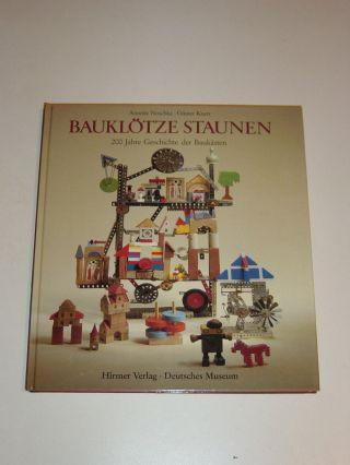Sammlerbuch Bauklötze Staunen 200 Jahre Geschichte Der Baukästen Top Zust. Bild