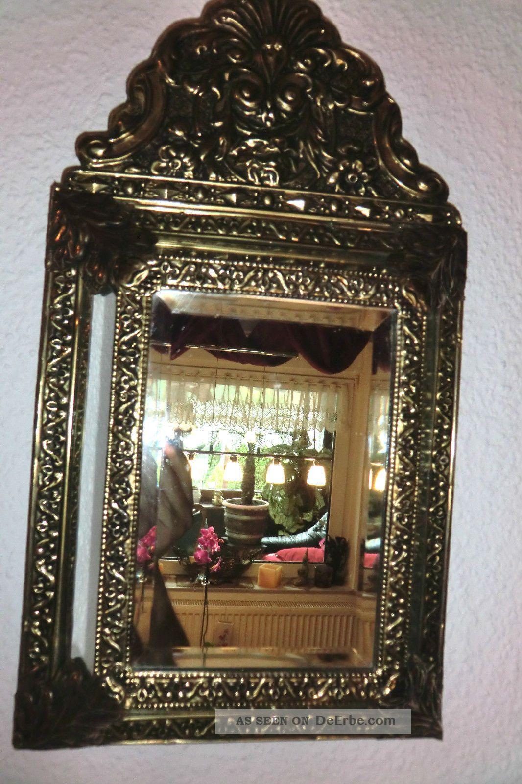 antiker holl ndischer barockspiegel 19 jh. Black Bedroom Furniture Sets. Home Design Ideas