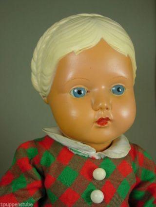 P863/ Cellba Celluloid Puppe Gretchen Um 1930 Ca.  42 Cm. Bild