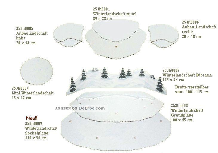 Hubrig Anbau links und rechts Winterlandschaft Winterkinder