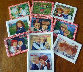 Konvolut - Sammlung 10 Käthe Kruse Puppen Kataloge 1993 Bis 2002 Top In Ordnung Bild