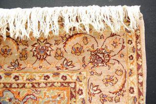 Sehr Feine Teppich Ca: 1.  000.  000 Pro Qm Auf Seide Geknüpft Handrug Tappeto Bild