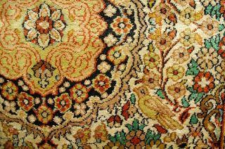 Top Kaschmirseiden Teppich Ca: 126x76cm Handrug Tapis Bild