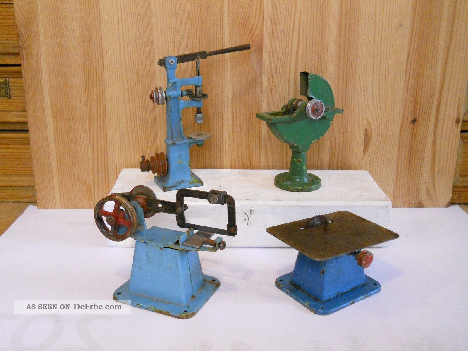 Märklin 4 Antriebsmodelle - Dampfmaschine - Für Den Bastler Gefertigt vor 1945 Bild
