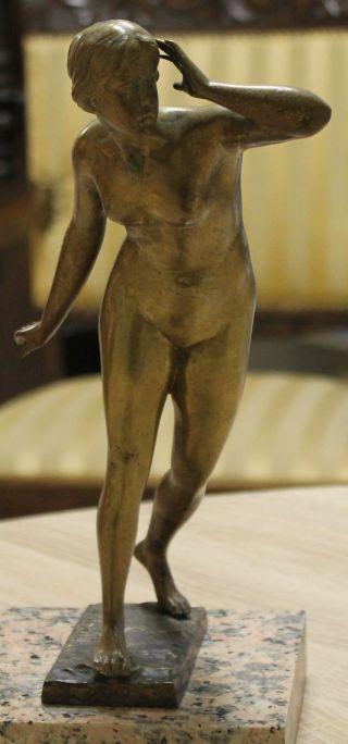 Brünierte Bronze Friedrich Wilhelm Andreas Skulptur