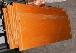 String Regal Dafür 7x Org Böden 63cm X 23cm Org Böden Originalzustand Bild